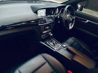 2014 Mercedes-Benz C-Class W204 MY14 C250 7G-Tronic + Avantgarde Black 7 Speed Sports Automatic
