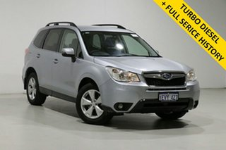 2015 Subaru Forester MY15 2.0D-L Silver Continuous Variable Wagon.