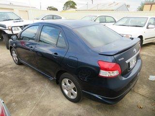 2007 Toyota Yaris NCP93R YRX Blue 5 Speed Manual Sedan
