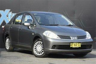 2008 Nissan Tiida C11 MY07 ST Grey 4 Speed Automatic Sedan.