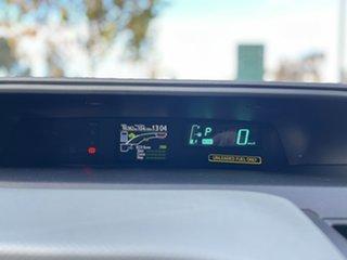 2013 Toyota Prius c NHP10R E-CVT White 1 Speed Constant Variable Hatchback Hybrid
