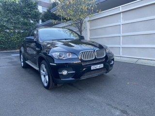 2008 BMW X6 E71 xDrive35d Coupe Steptronic Black 6 Speed Sports Automatic Wagon.
