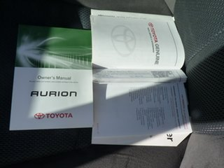 2009 Toyota Aurion GSV40R Sportivo SX6 Grey 6 Speed Sports Automatic Sedan