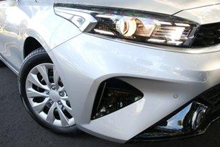 2021 Kia Cerato BD MY22 S Silky Silver 6 Speed Sports Automatic Hatchback.