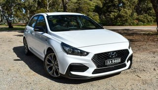2019 Hyundai i30 PD.3 MY19 N Line D-CT White 7 Speed Sports Automatic Dual Clutch Hatchback.