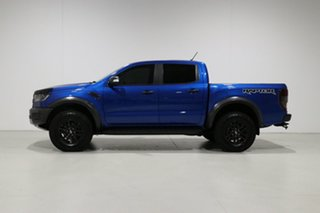 2018 Ford Ranger PX MkIII MY19 Raptor 2.0 (4x4) Blue 10 Speed Automatic Double Cab Pick Up