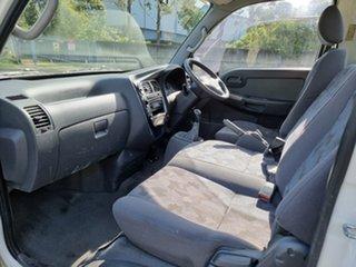 2011 Kia K2900 White 5 Speed Manual Cab Chassis