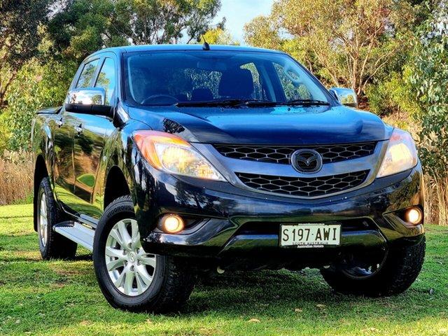Used Mazda BT-50 UP0YF1 XTR Morphett Vale, 2013 Mazda BT-50 UP0YF1 XTR Black 6 Speed Sports Automatic Utility