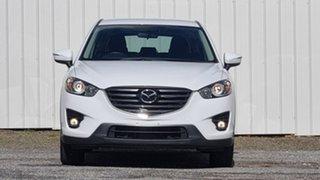 2016 Mazda CX-5 KE1072 Maxx SKYACTIV-Drive FWD White 6 Speed Sports Automatic Wagon.