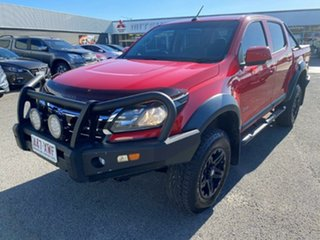 2017 Holden Colorado RG MY17 LS Pickup Crew Cab Red 6 Speed Manual Utility