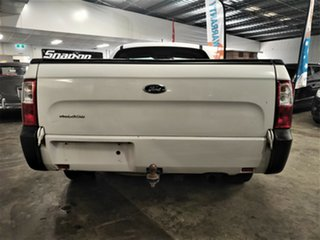 2010 Ford Falcon FG Super Cab White 5 Speed Sports Automatic Cab Chassis