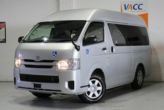 2015 Toyota HiAce TRH200  High Roof  Silver 6 Speed Automatic Bus