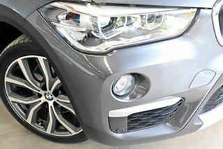 2016 BMW X1 F48 sDrive18d Steptronic Grey 8 Speed Sports Automatic Wagon.