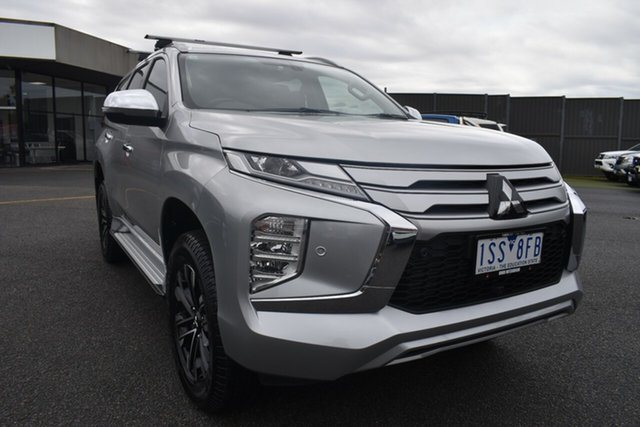 Used Mitsubishi Pajero Sport QF MY20 Exceed Wantirna South, 2020 Mitsubishi Pajero Sport QF MY20 Exceed Billet Silver 8 Speed Sports Automatic Wagon