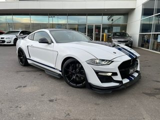 2018 Ford Mustang FN 2019MY GT White 10 Speed Sports Automatic Fastback.