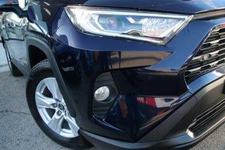 2019 Toyota RAV4 Axah52R GX 2WD Blue 6 Speed Constant Variable Wagon Hybrid.