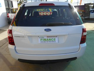 2009 Ford Territory SY MkII TS RWD White 4 Speed Sports Automatic Wagon