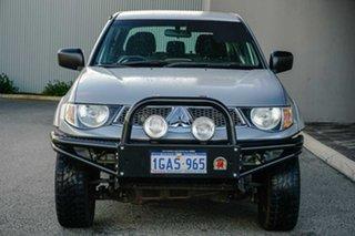 2012 Mitsubishi Triton MN MY12 GL-R Double Cab Silver 5 Speed Manual Utility