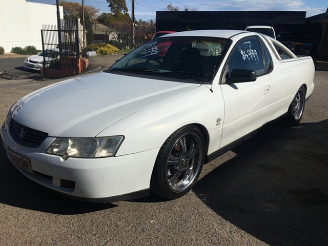 Used Holden Ute VY II Blair Athol, 2003 Holden Ute VY II White 4 Speed Automatic Utility