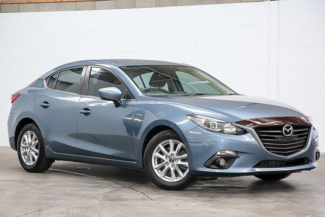 Used Mazda 3 BM5276 Maxx SKYACTIV-MT Erina, 2015 Mazda 3 BM5276 Maxx SKYACTIV-MT Blue 6 Speed Manual Sedan