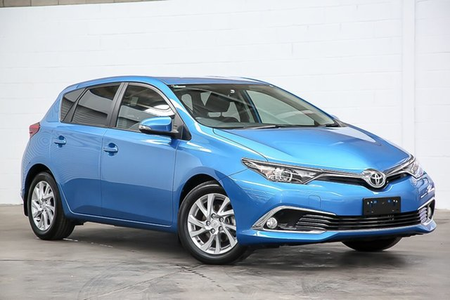 Used Toyota Corolla ZRE182R Ascent Sport S-CVT Erina, 2018 Toyota Corolla ZRE182R Ascent Sport S-CVT Blue 7 Speed Constant Variable Hatchback