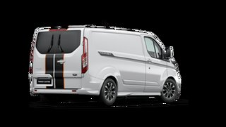 2020 Ford Transit Custom 320S (Low Roof) Sport Frozen White 6 Speed Automatic Van.