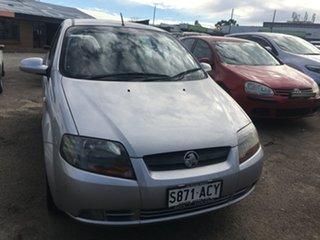 2005 Holden Barina TK Silver 5 Speed Manual Hatchback.