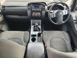 2013 Nissan Navara D40 MY12 ST (4x4) Red 5 Speed Automatic Dual Cab Pick-up.