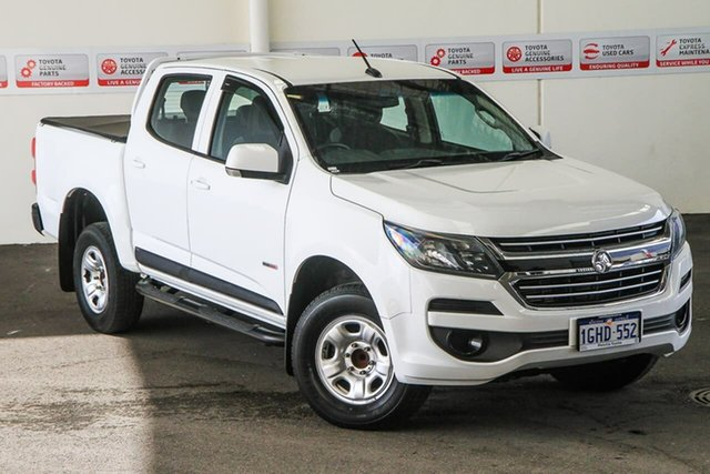 Pre-Owned Holden Colorado RG MY17 LS (4x2) Myaree, 2016 Holden Colorado RG MY17 LS (4x2) White 6 Speed Automatic Crew Cab Chassis