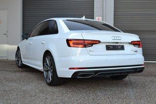 2019 Audi A4 B9 8W MY19 45 TFSI S Tronic Quattro S Line White 7 Speed Sports Automatic Dual Clutch.