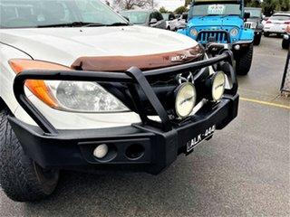 2012 Mazda BT-50 UP0YF1 XT 4x2 Hi-Rider White 6 Speed Manual Cab Chassis.