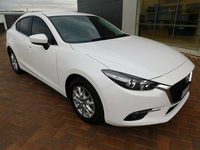 Used Mazda 3 BM5278 Maxx SKYACTIV-Drive Toowoomba, 2016 Mazda 3 BM5278 Maxx SKYACTIV-Drive White 6 Speed Sports Automatic Sedan