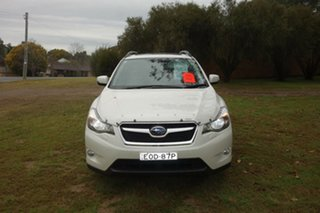 2014 Subaru XV G4X MY14 2.0i-S Lineartronic AWD White 6 Speed Constant Variable Wagon.