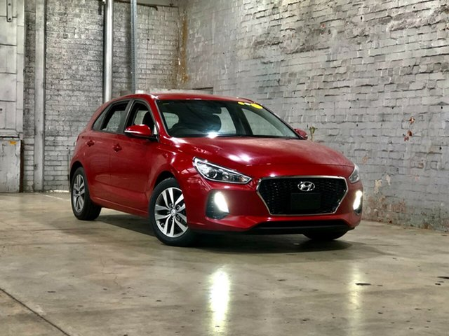 Used Hyundai i30 PD MY18 Active Mile End South, 2017 Hyundai i30 PD MY18 Active Red 6 Speed Sports Automatic Hatchback