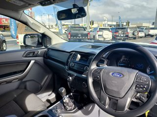 2018 Ford Ranger PX MkII 2018.00MY XLS Double Cab Frozen White 6 Speed Manual Utility
