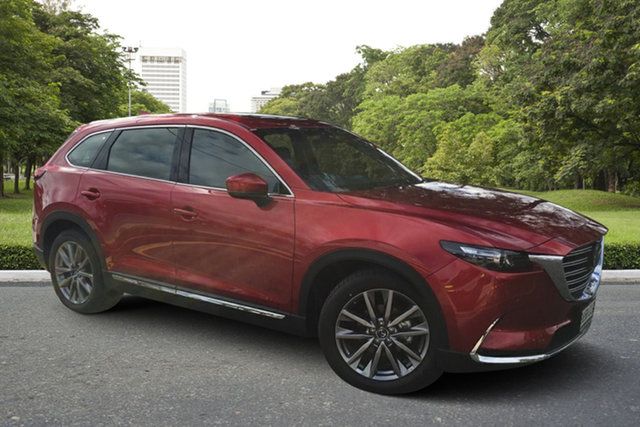 Demo Mazda CX-9 TC GT SKYACTIV-Drive Paradise, 2021 Mazda CX-9 TC GT SKYACTIV-Drive Soul Red 6 Speed Sports Automatic Wagon