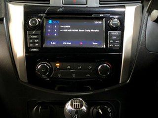 2017 Nissan Navara D23 S2 ST Silver 6 Speed Manual Utility