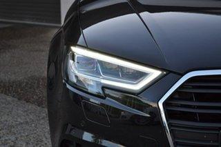 2018 Audi A3 8V MY18 S Tronic Black 7 Speed Sports Automatic Dual Clutch Sedan.