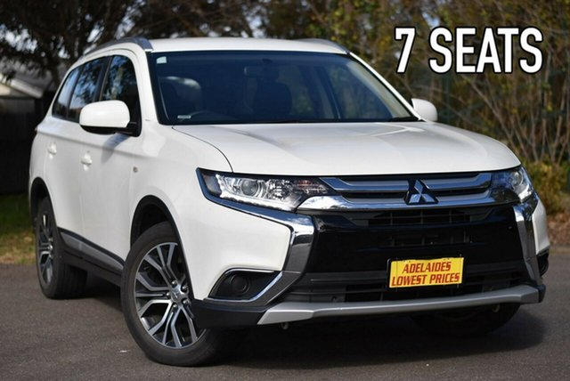 Used Mitsubishi Outlander ZL MY18.5 ES 2WD Melrose Park, 2018 Mitsubishi Outlander ZL MY18.5 ES 2WD White 6 Speed Constant Variable Wagon