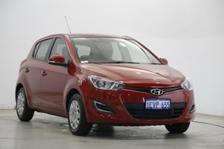 2015 Hyundai i20 PB MY16 Active Red Passion 6 Speed Manual Hatchback