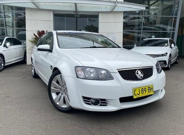Used Holden Commodore VE II MY12.5 Z Series Sportwagon Sutherland, 2012 Holden Commodore VE II MY12.5 Z Series Sportwagon White 6 Speed Sports Automatic Wagon