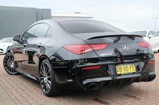 2020 Mercedes-Benz CLA-Class C118 800+050MY CLA35 AMG SPEEDSHIFT DCT 4MATIC Black 7 Speed.