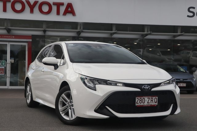Pre-Owned Toyota Corolla Mzea12R Ascent Sport Upper Mount Gravatt, 2020 Toyota Corolla Mzea12R Ascent Sport Glacier White 10 Speed Constant Variable Hatchback