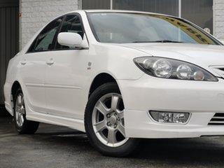 2005 Toyota Camry ACV36R Sportivo White 4 Speed Automatic Sedan.