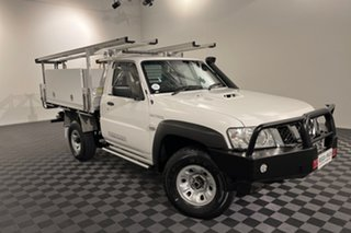 2016 Nissan Patrol Y61 Series 5 MY15 DX 5 speed Manual Cab Chassis.