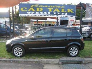 2008 Holden Astra AH, Finance $42 Per Week Black 5 Speed Manual Hatchback