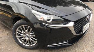 2021 Mazda 2 DJ2HAA G15 SKYACTIV-Drive Evolve Jet Black 6 Speed Sports Automatic Hatchback.
