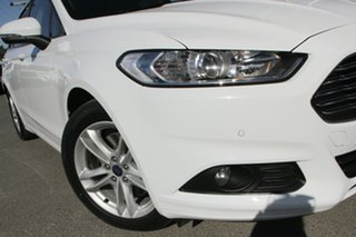 2017 Ford Mondeo MD 2018.25MY Ambiente Frozen White 6 Speed Sports Automatic Dual Clutch Wagon.