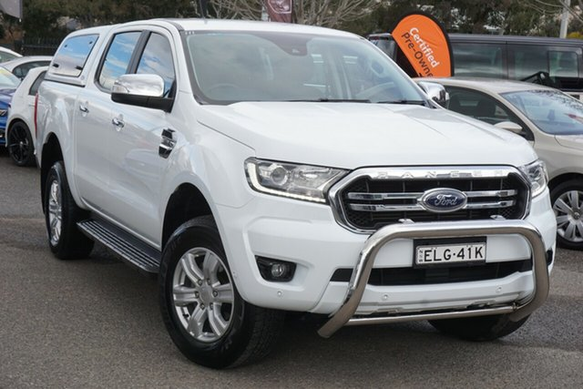 Used Ford Ranger PX MkIII 2019.00MY XLT Hi-Rider Phillip, 2018 Ford Ranger PX MkIII 2019.00MY XLT Hi-Rider White 6 Speed Sports Automatic Utility