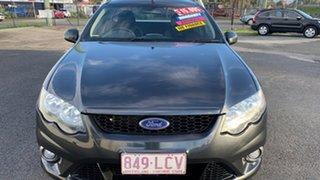2008 Ford Falcon FG XR6 Grey 5 Speed Auto Seq Sportshift Cab Chassis.